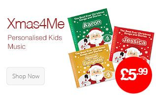 xmas4me - personalised kids christmas music