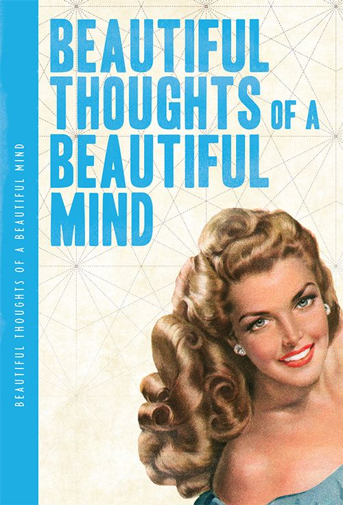 Beautiful Thoughts Of A Beautiful Mind XL Notebook