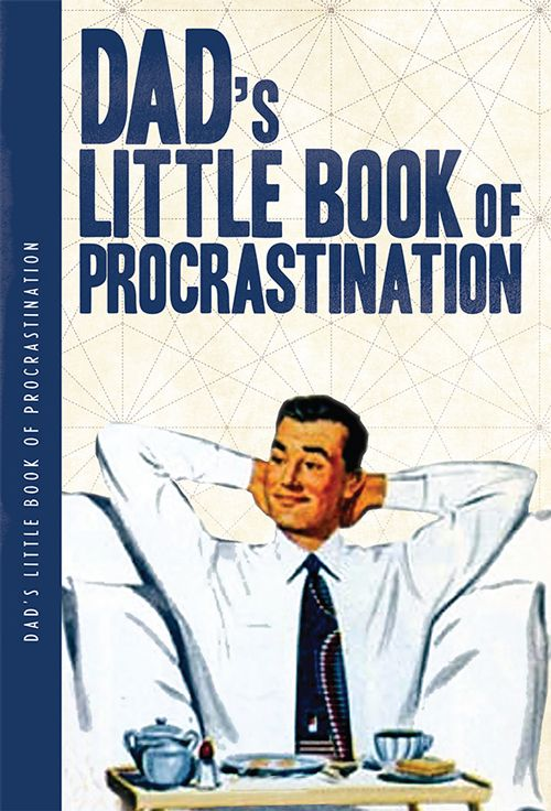 Dad's Little Book Of Procrastination XL Notebook
