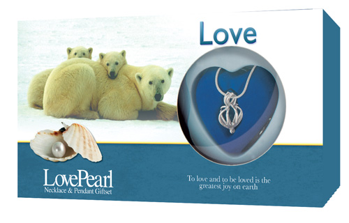Love Pearl Gift Set (Polar Bears)