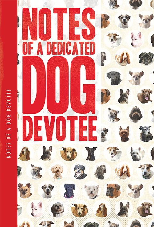Notes Of A Dedicated Dog Devotee XL Notebook