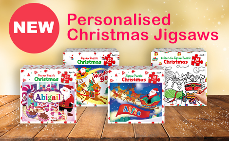 childrens personalised jigsaws